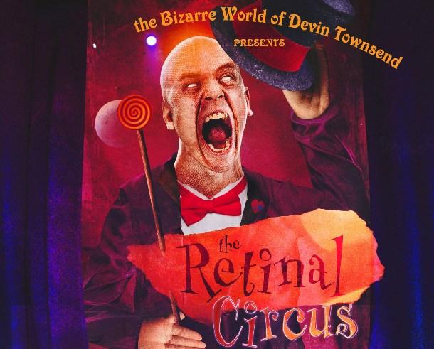 Devin Townsend Retinal Circus Flyer
