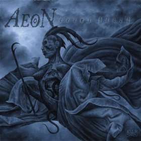 The cover artwork for Aeon's Black
