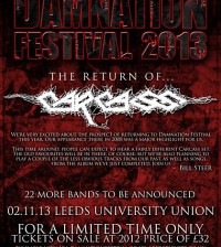 Damnation Carcass announcement