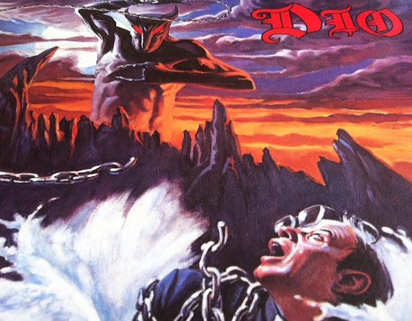 'Holy Diver', one of the greatest album covers of all time. '