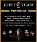 Orphaned Land UK tour flyer 2013