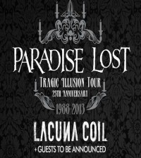 Paradise Lost 25th Anniversary tour _420x470