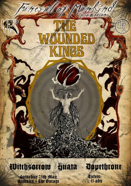 The Wounded Kings - London 2013