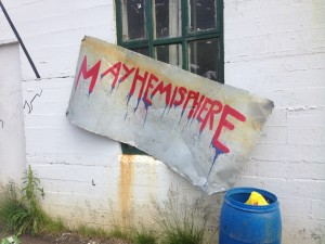 3 - mayhemisphere sign