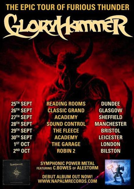 Gloryhammer UK Tour