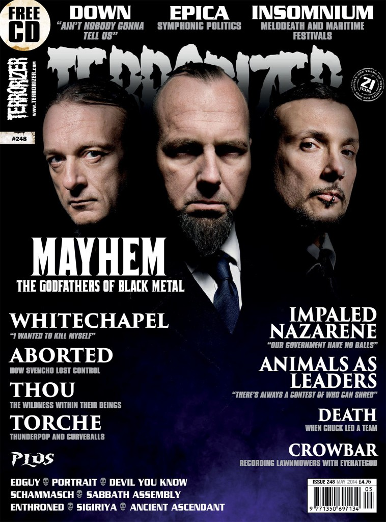 #248 mayhem Cover digi