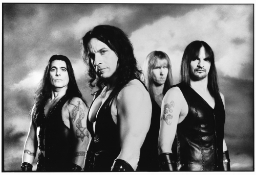 Manowar promo photo Terrorizer
