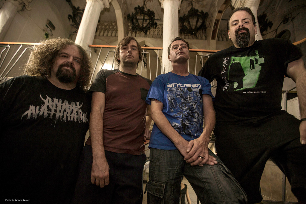 Band Photo - Napalm Death