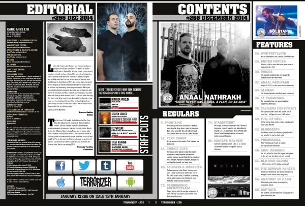 Contents spread