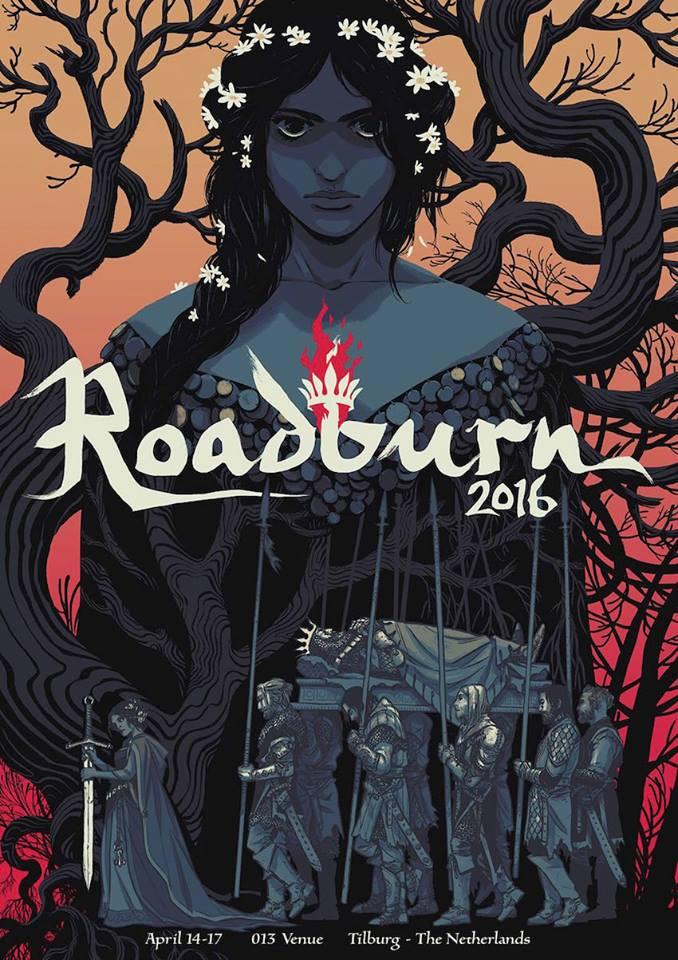 Roadburn 2016 art