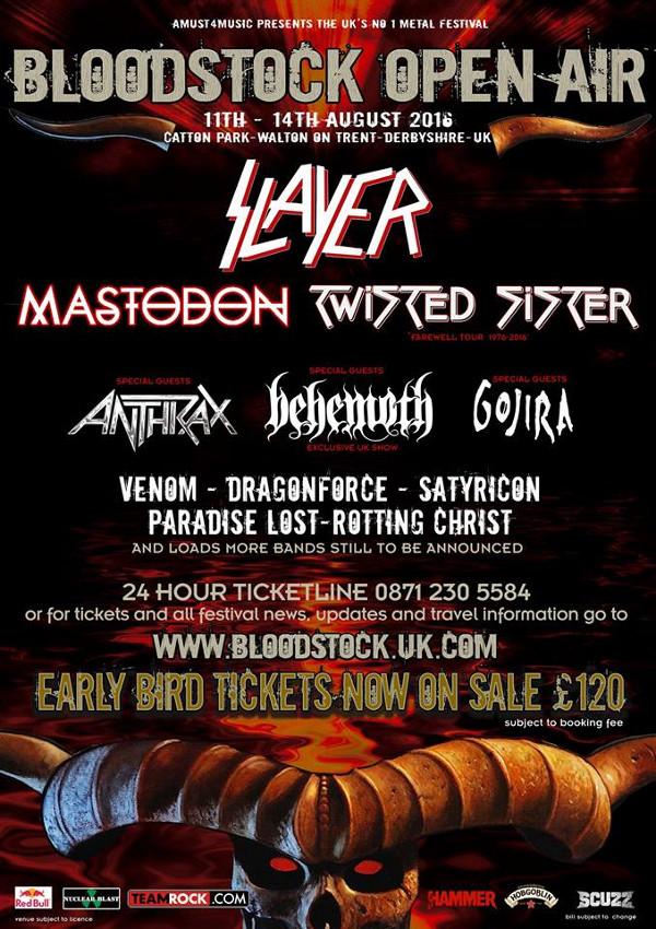 Bloodstock 2016 Slayer 600