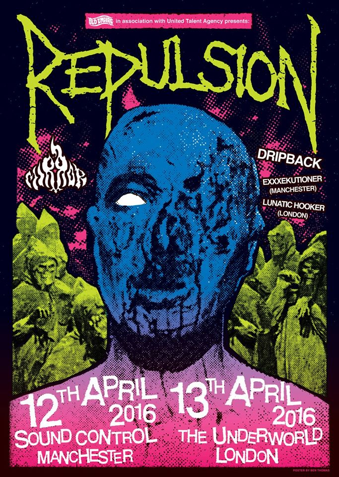 Win Tickets To See Repulsion In Manchester Or London - Terrorizer
