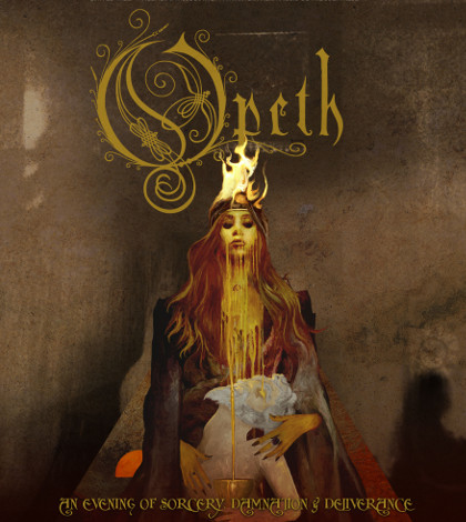 Opeth Sorceress 420x470