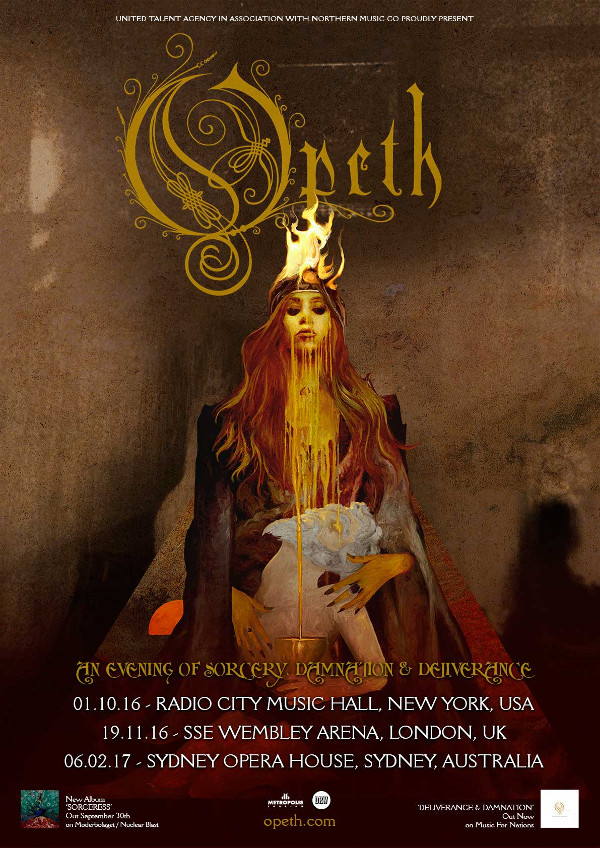 Opeth Sorceress New 600