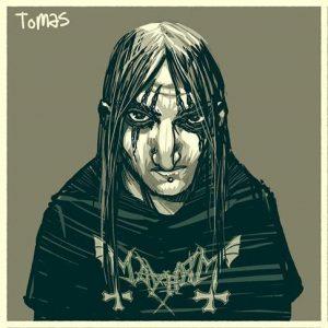 Tomas - vocals and guitar