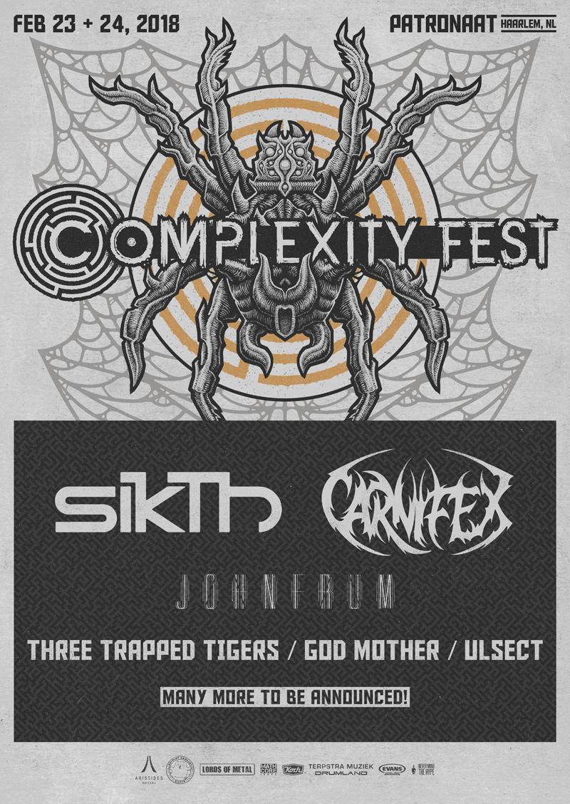 Sikth, Carnifex, John Frum & More Confirmed For Complexity Fest